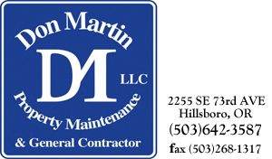 Don Martin Property Maintenance & General Contractor LLC